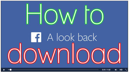 How to download your Look Back video by TinaS-Photography