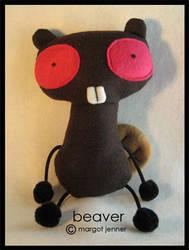 Beaver by plushrooms