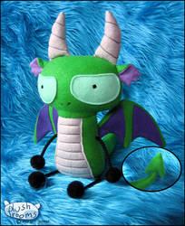 SeraphimProphet's Dragon by plushrooms