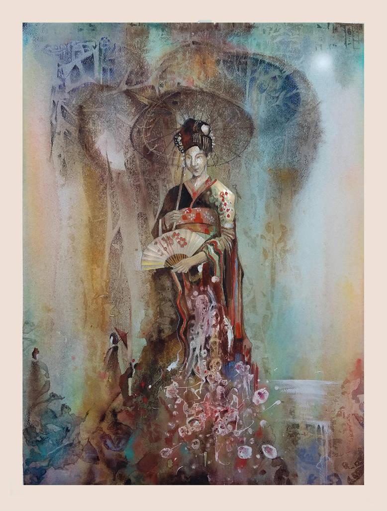 Geisha Dharma by richardcgreen