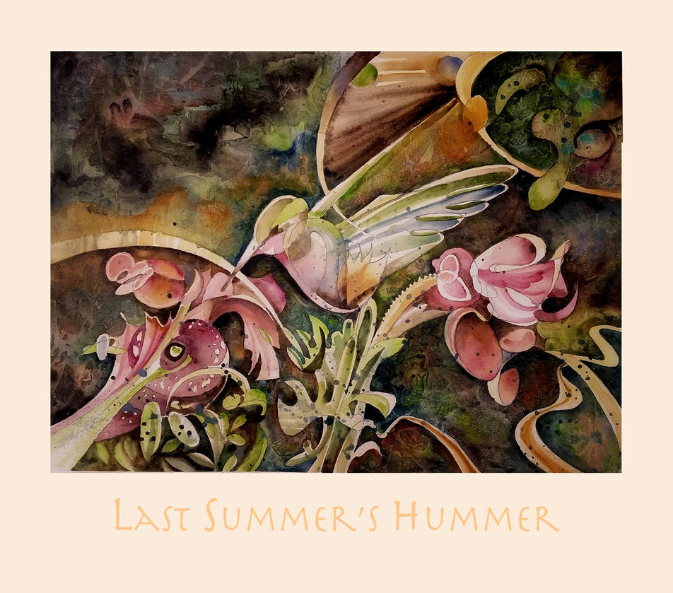 Last Summer's Hummer by richardcgreen