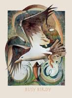 Busy Birdy by richardcgreen