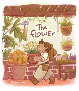 The Flower- Cover Page by MadJesters1