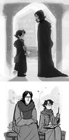 Snape and Harry by MadJesters1