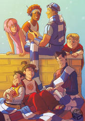 Lazy Town Zine-NapTime by MadJesters1