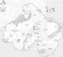 Map of Krastil by FFRedXIII