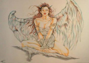 Angel by lpjchinnery