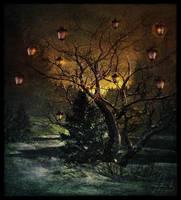 Lightning Dreams Of The Night by IrondoomDesign