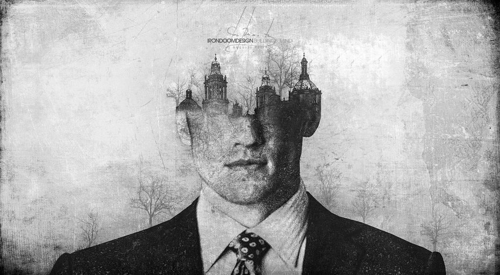 Buildings Man by IrondoomDesign