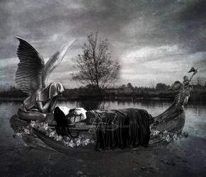 Anguish Watched She Depart by IrondoomDesign