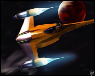 Star Wars Starfighter by McKinster