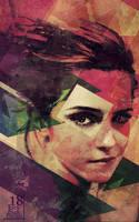 XVIII Emma Watson by JoeySanPedro
