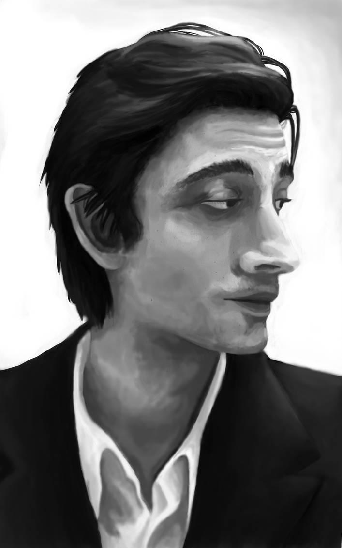 Adrien Brody by ToniiiDrawings-byME