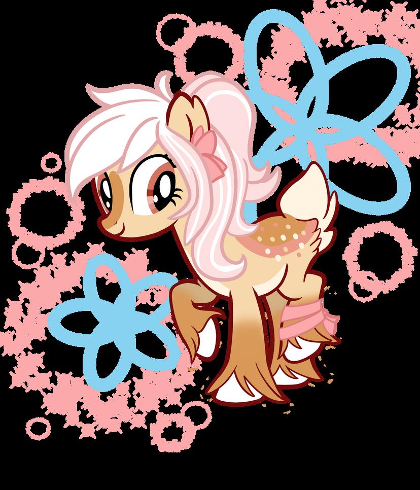 deer pony oc by tangerineable on deviantart Deer Pony MLP Galaxy deer pony oc by tangerineable