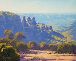 Three Sisters Katoomba by artsaus