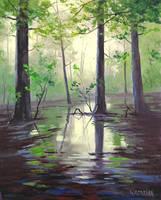 Mantons Swamp by artsaus
