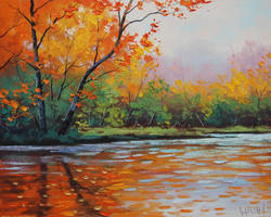 River Reflections by artsaus