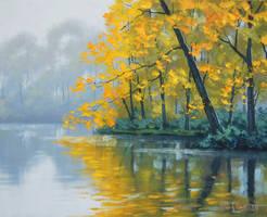 Lake Reflections by artsaus
