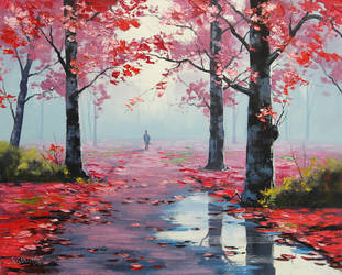 After Rain Stroll by artsaus