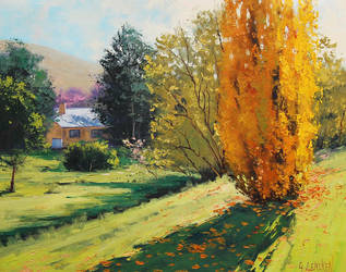 Autumn in Carcor, Australia by artsaus