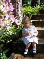 Girl in Garden Stock 1 by Fully-Stocked