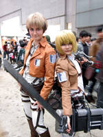 Jean and Armin by wingedlight