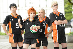 Karasuno - Haikyuu!! by wingedlight