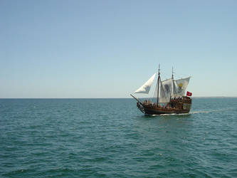 Pirate ship by G-Unit23Stock