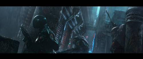 Concept Sketch: Citystate by Cryptcrawler