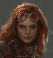 Chandra Portrait by Cryptcrawler