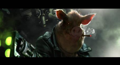 Porkchop Express by Cryptcrawler