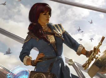 Jhoira, Weatherlight Captain by Cryptcrawler