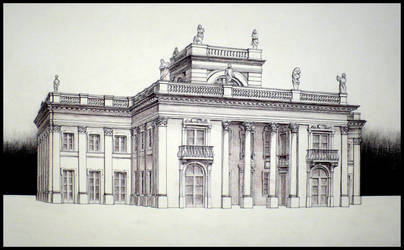 Lazienki Palace by paczek