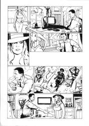 Detective Story Page One Inks by PauulP