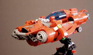 hotrod civilian starcruiser by Nin-jueTheKirin