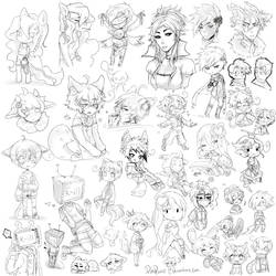 Sketches by ponponii