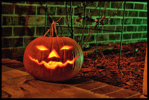On Halloween by Horsell