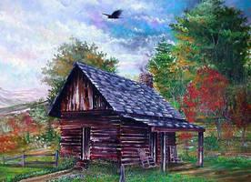 Log Cabin by djsykes