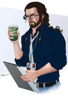 Thorin the Technical Department Manager by Norloth