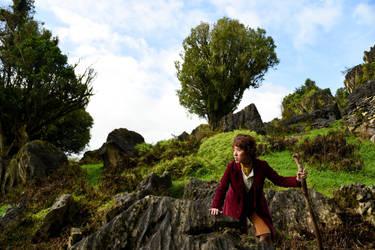 Bilbo at Trollshaws by Norloth