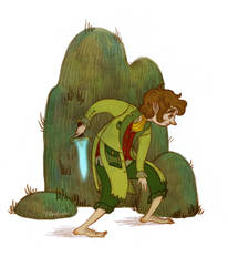 Bilbo felt some Danger by Norloth