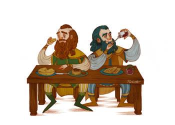 Bofur and Bifur by Norloth
