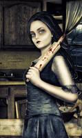 Mrs Lovett Doll by Lapoulenoire