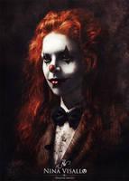 Bloody Clown by Lapoulenoire