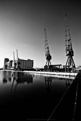 Royal Victoria Docks by Evilien