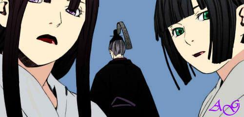 Tsuyu Tenjin And Mayu Noragami By Ainhoag99 On Deviantart