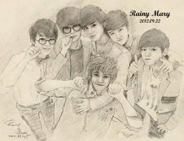 EXO-K by RainyMary