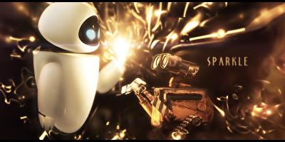 Wall-E and Eve Signature by DazUki