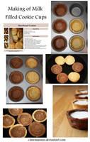 Milk Filled Cookie Cups Tut by claremanson