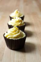 Lemon Curd Cupcakes by claremanson
